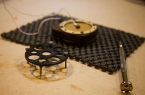 Resonator disk removed