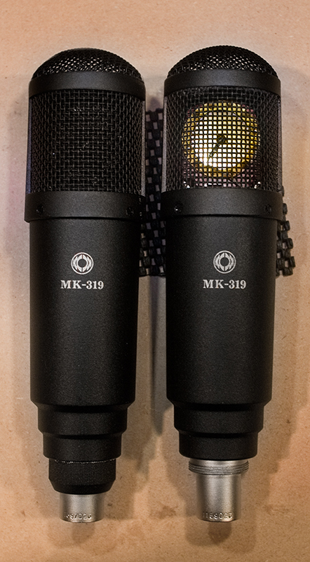 Stock MK-319 (right) and my modified version (left)
